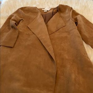 H&M - Brown Suede Jacket size Small